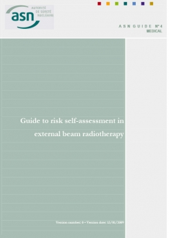 ASN Guide no 4: Guide to risk self-assessment in external beam radiotherapy